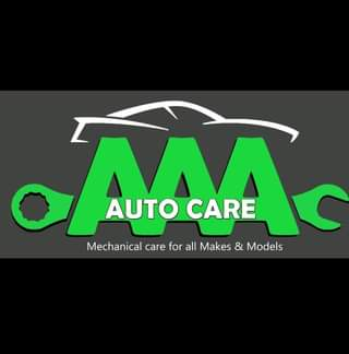 """May be an image of car and text that says """"AUTO CARE Mechanical care for all Makes & Models"""""""